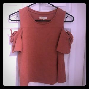 Madewell Cold Shoulder Top Size XS